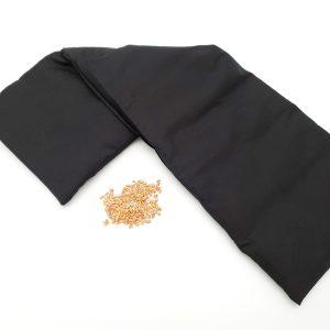 Pittenkussen zwart