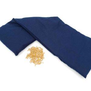 Lange pittenzak Blauw XL