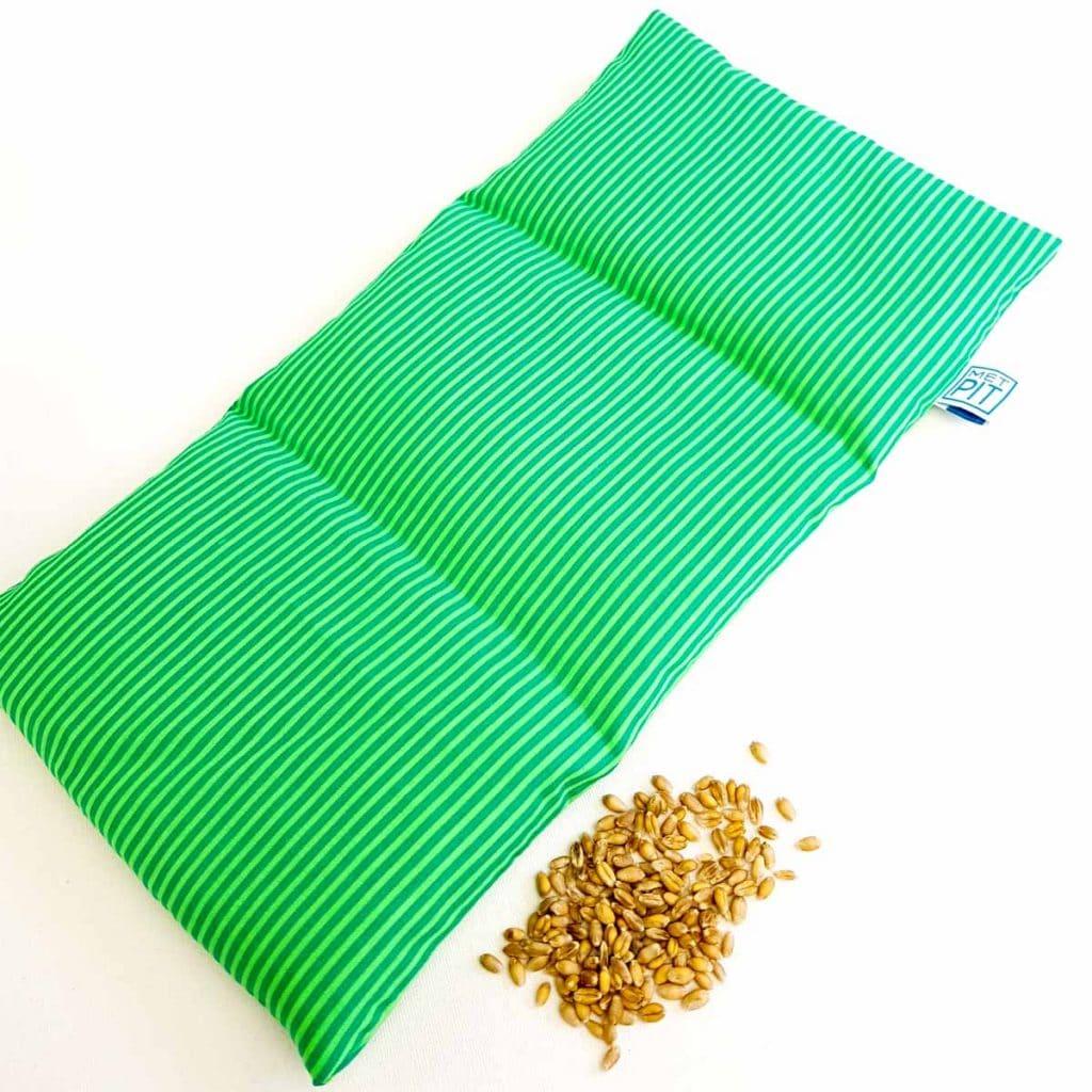 Pittenzak / coldpack groen met strepen